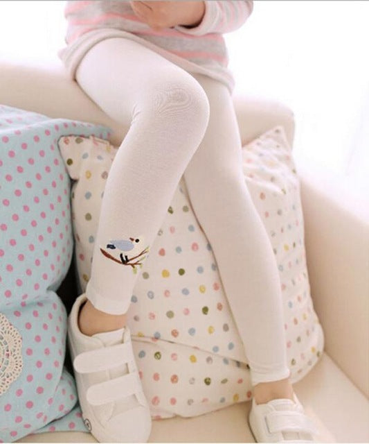 White Bird Leggings - LDNKIDS - Kids Clothing Childrenswear Baby Clothes