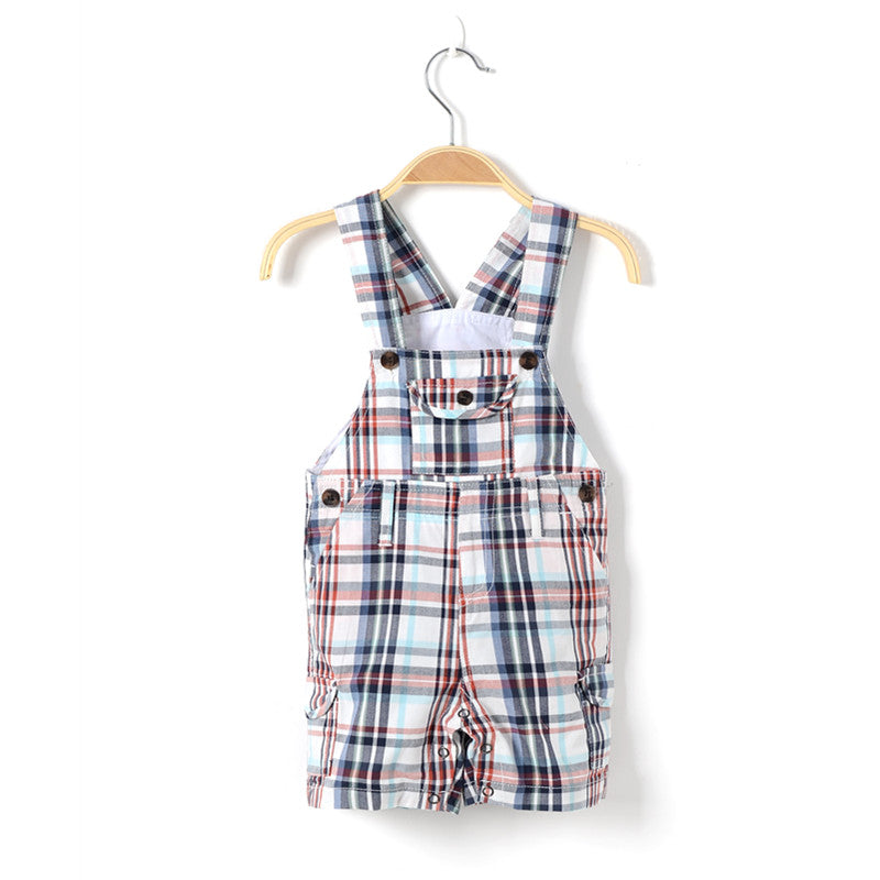 Plaid Dungarees - LDNKIDS - Kids Clothing Childrenswear Baby Clothes