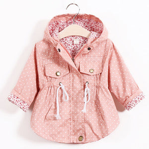 Polka Dot & Floral Jacket - LDNKIDS - Kids Clothing Childrenswear Baby Clothes