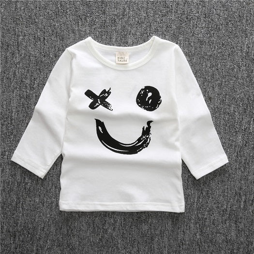 Happy Face Top - LDNKIDS - Kids Clothing Childrenswear Baby Clothes