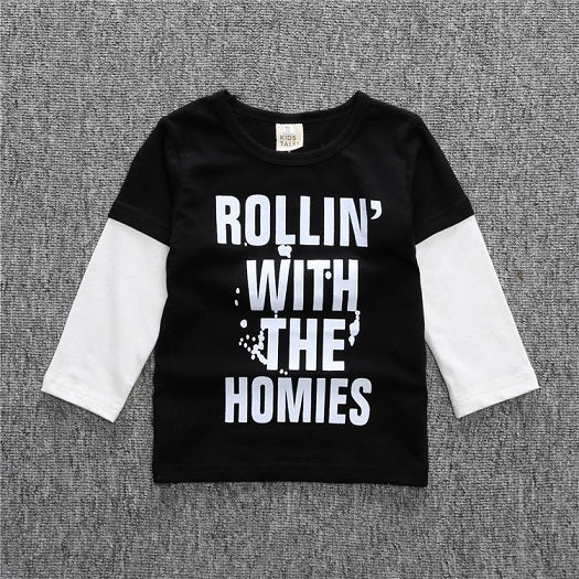 Rollin' With The Homies Top - LDNKIDS - Kids Clothing Childrenswear Baby Clothes