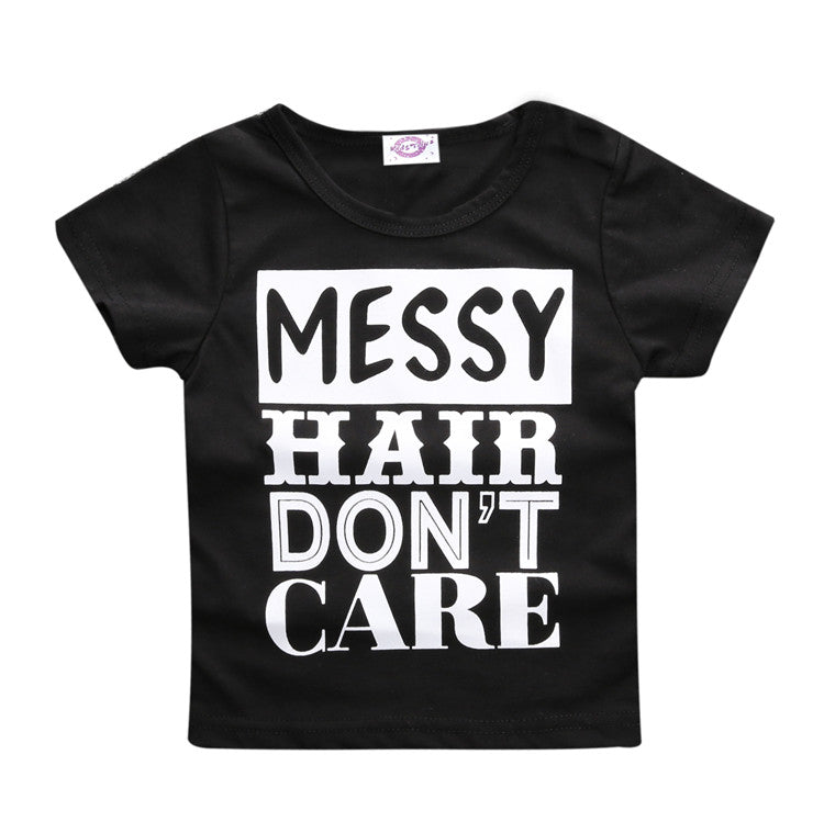 Messy Hair Tee - LDNKIDS - Kids Clothing Childrenswear Baby Clothes