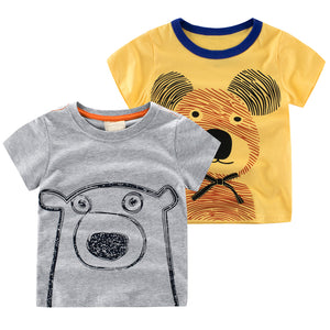 Cartoon Animal Tee - LDNKIDS - Kids Clothing Childrenswear Baby Clothes