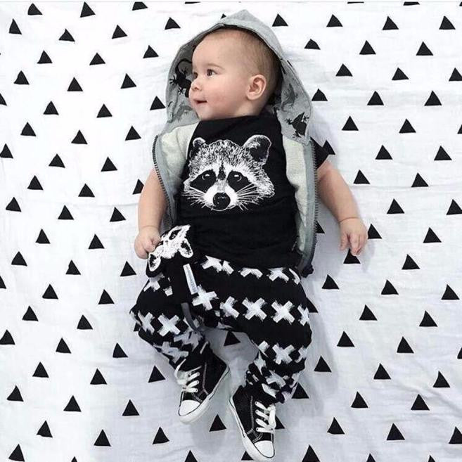 Raccoon Set - LDNKIDS - Kids Clothing Childrenswear Baby Clothes