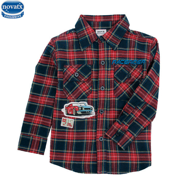 Plaid Car Shirt