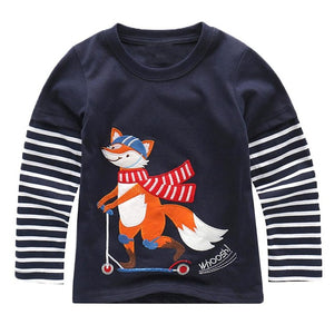 Foxy Scooter Top - LDNKIDS - Kids Clothing Childrenswear Baby Clothes