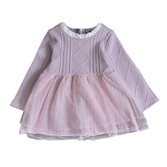 Dusty Pink Charlotte Dress - LDNKIDS - Kids Clothing Childrenswear Baby Clothes