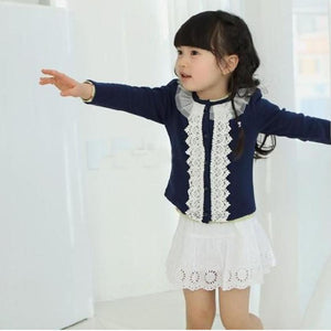 Lace Detail Cardigan - LDNKIDS - Kids Clothing Childrenswear Baby Clothes