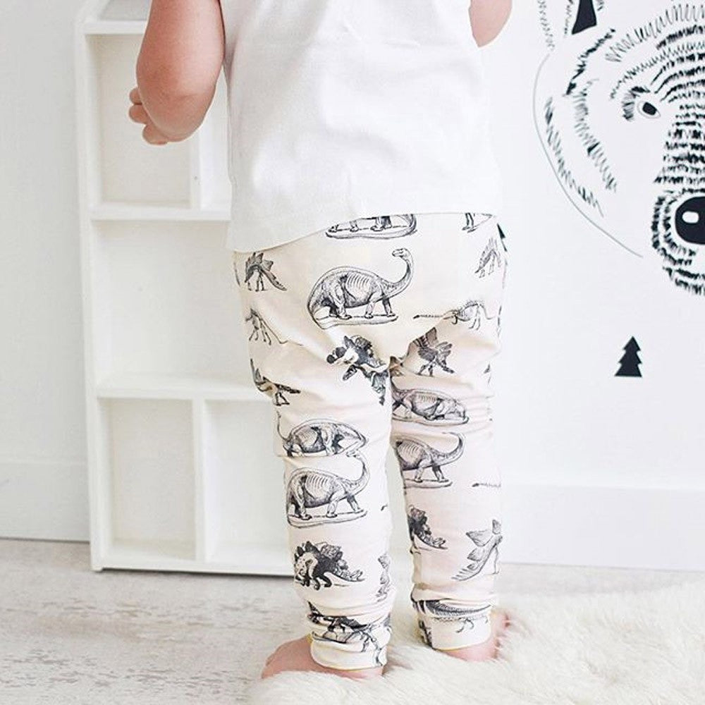 Dinosaur Harem Bottoms - LDNKIDS - Kids Clothing Childrenswear Baby Clothes