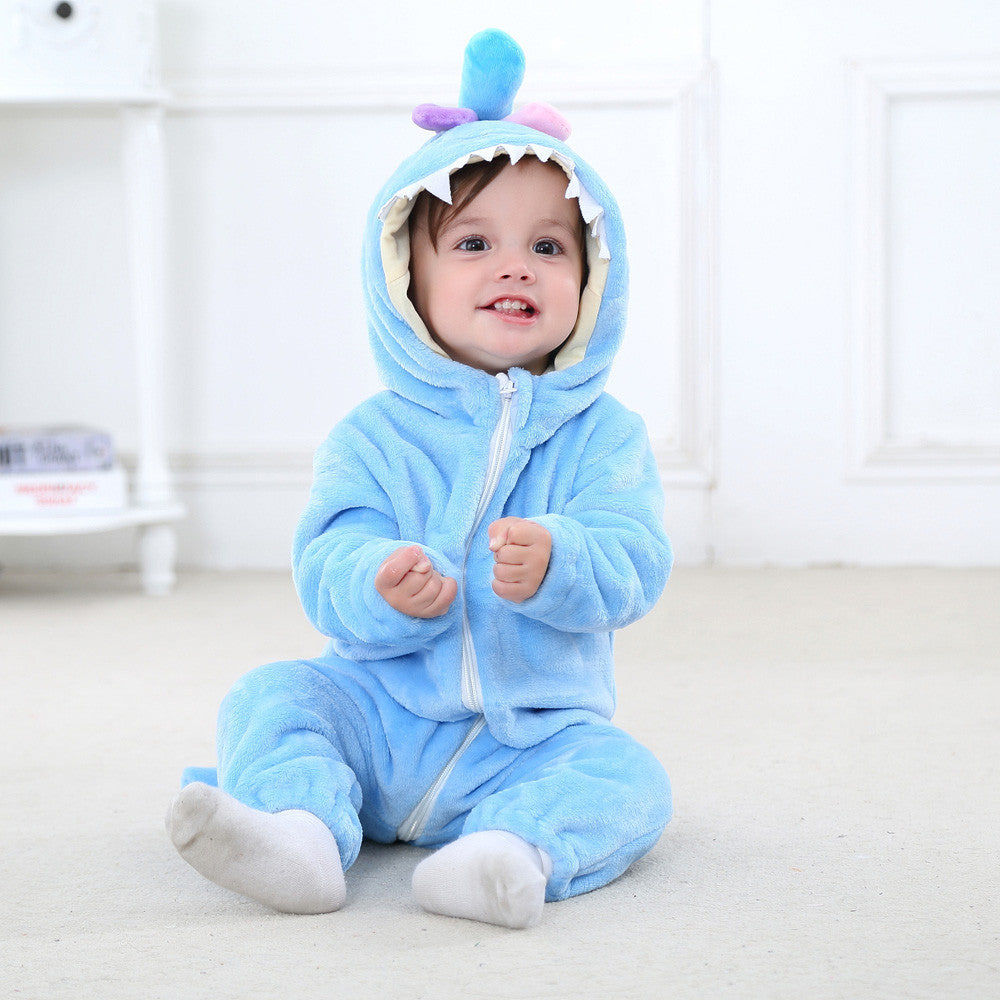 Sea Monster Onesie Romper - LDNKIDS - Kids Clothing Childrenswear Baby Clothes