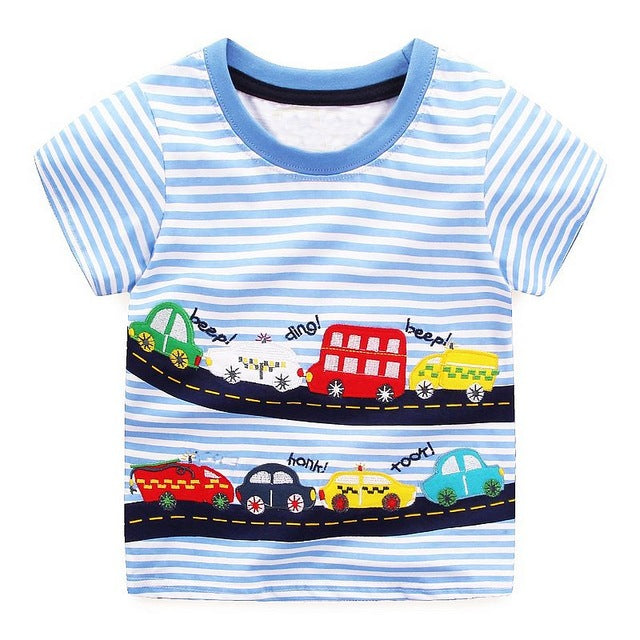 Traffic Jam Tee - LDNKIDS - Kids Clothing Childrenswear Baby Clothes