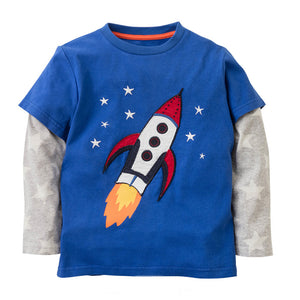 Rocket Star Top - LDNKIDS - Kids Clothing Childrenswear Baby Clothes