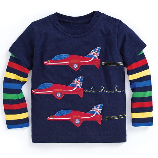 Red Arrows Top - LDNKIDS - Kids Clothing Childrenswear Baby Clothes