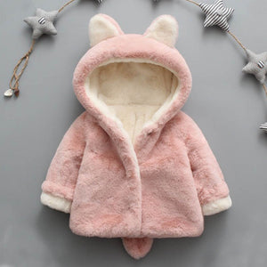 Pink Bunny Coat - LDNKIDS - Kids Clothing Childrenswear Baby Clothes