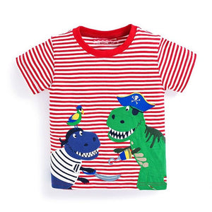 Dinosaur Pirates Tee - LDNKIDS - Kids Clothing Childrenswear Baby Clothes