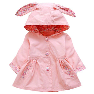 Pink Spring Bunny Coat - LDNKIDS - Kids Clothing Childrenswear Baby Clothes