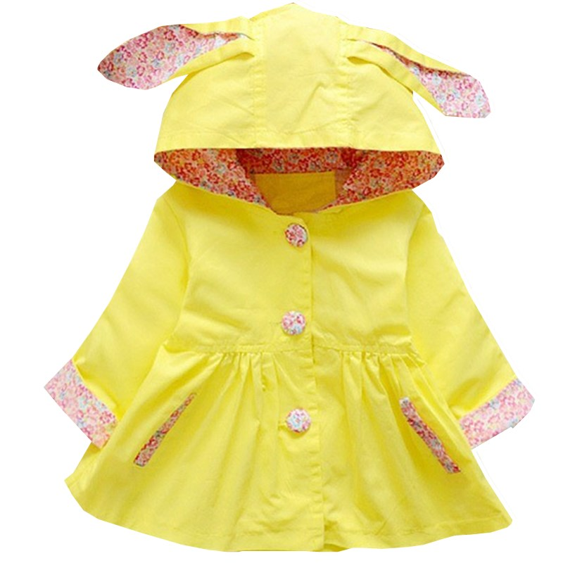 Yellow Spring Bunny Coat - LDNKIDS - Kids Clothing Childrenswear Baby Clothes