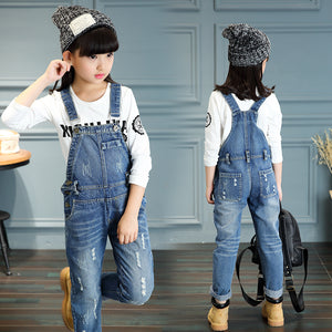 Distressed Dungarees - LDNKIDS - Kids Clothing Childrenswear Baby Clothes