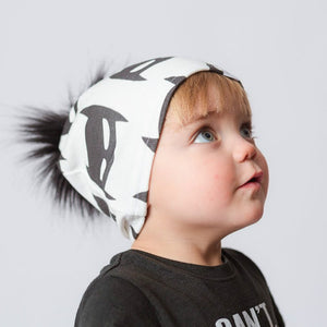 Super Hero Pom Pom Hat - LDNKIDS - Kids Clothing Childrenswear Baby Clothes