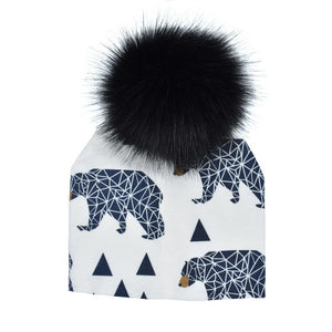 Baer Pom Pom Hat - LDNKIDS - Kids Clothing Childrenswear Baby Clothes