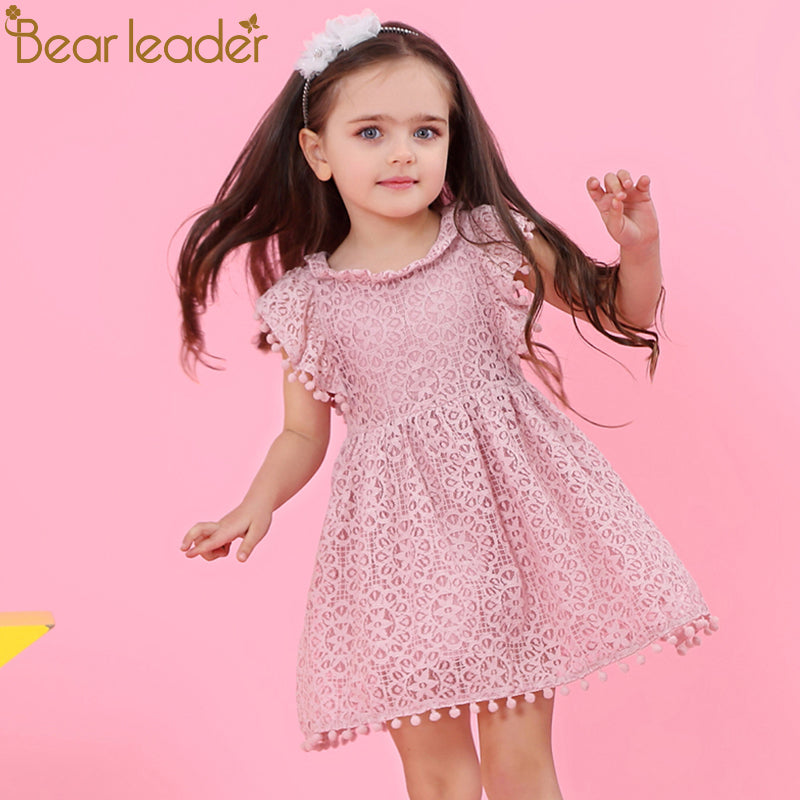 Ellie-May Dress Pink - LDNKIDS - Kids Clothing Childrenswear Baby Clothes