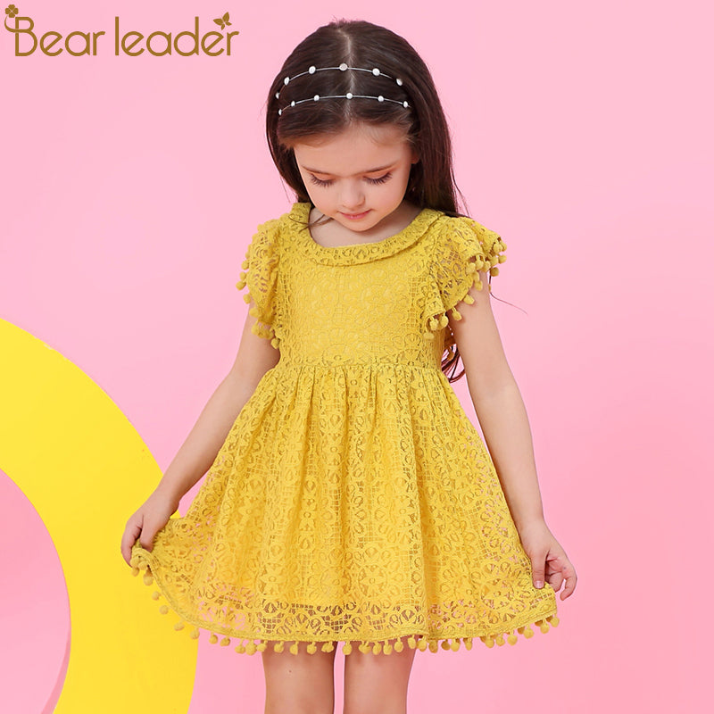 Ellie-May Dress Mustard - LDNKIDS - Kids Clothing Childrenswear Baby Clothes
