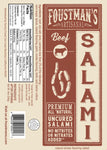 BEEF SALAMI | ALL-NATURAL UNCURED SALAMI