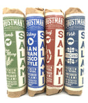 uncured foustman's salami variety 4 pack