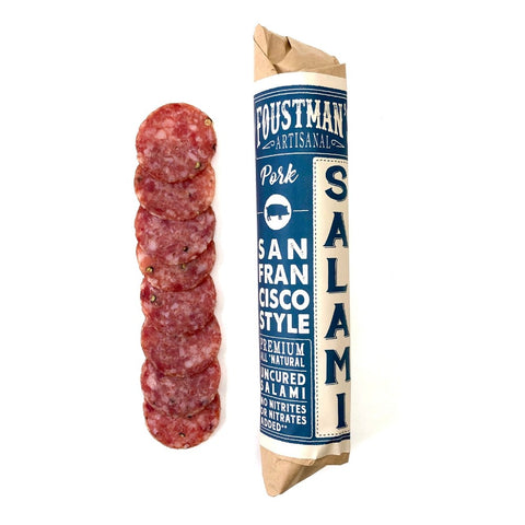 PORK SAN FRANCISCO STYLE | ALL-NATURAL UNCURED SALAMI