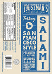 TURKEY SAN FRANCISCO STYLE | ALL-NATURAL UNCURED SALAMI
