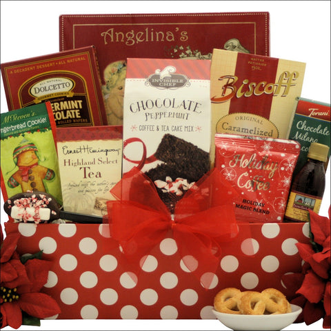 JOLLY CHRISTMAS MORNING: BREAKFAST HOLIDAY GIFT BASKET