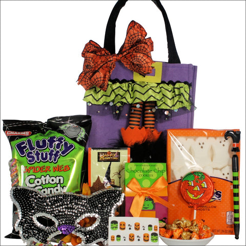 SPARKLY & SPOOKY FUN: HALLOWEEN GIFT BASKET - TWEEN GIRL AGES 9 TO 12