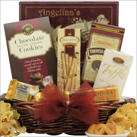 SWEET SUCCESS: CONGRATULATIONS CHOCOLATE GIFT BASKET