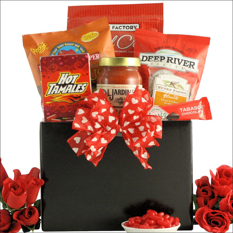 SPICE IT UP: VALENTINE'S DAY HOT & SPICY GOURMET GIFT BASKET