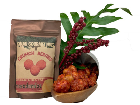 Crunch Berries Coconut Li Hing Mui Macadamias Cinnamon Roasted Nuts