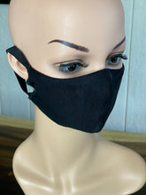 "BAMBOO-LINED DUTCH FABRIC FACE MASKS - ""OCEAN & MOUNTAIN"""