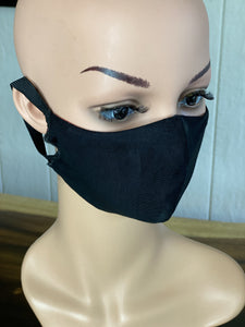 "MASK - BAMBOO-LINED DUTCH FABRIC FACE MASKS - ""OCEAN & MOUNTAIN"""