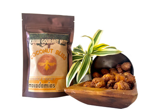 Kauai Gourmet Coconut Bliss Honey Macadamia Nuts