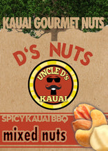 NOW SPICIER!  D'S Nuts BBQ Mixed Nuts