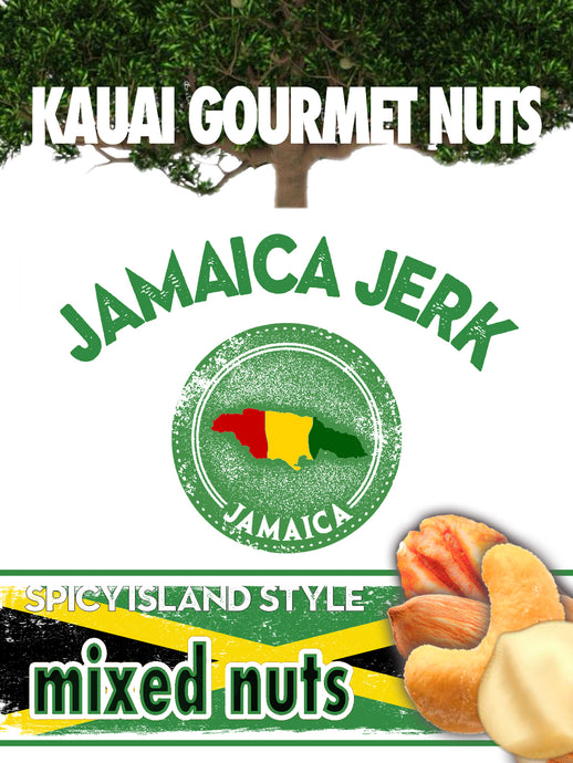 Jamaica Jerk Mixed Nuts