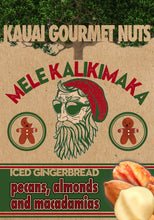 Mele Kalikimaka Iced Gingerbread Nut Mix