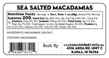 Sea Salted Macadamias