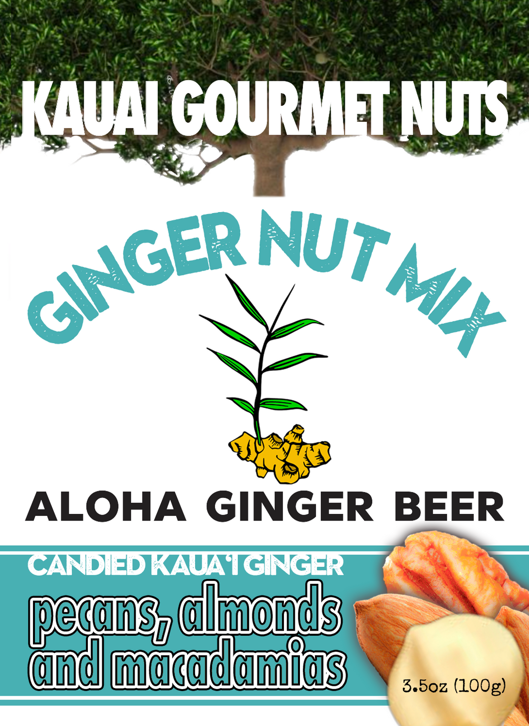 Aloha Ginger Beer Nut Mix