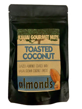 ON SALE NOW!!!  Toasted Coconut Almonds