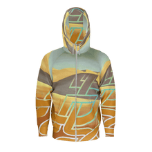 Mens Zipper Hoodie / SAHARA PATTERNS