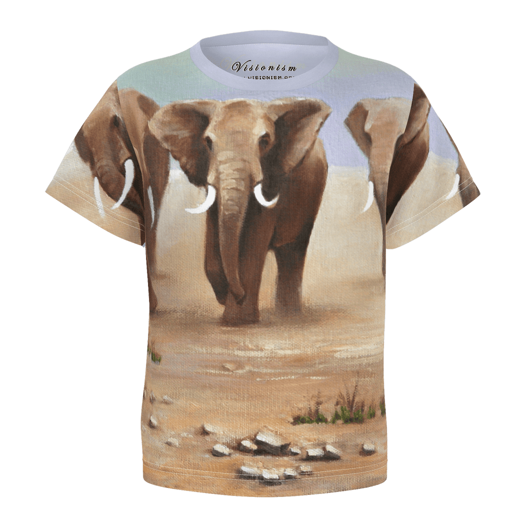 Toddler T-shirt / AMBOSELI ELEPHANTS