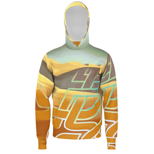 Men's Hoodie (Lightweight) / SAHARA PATTERNS