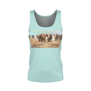 Women's Tanktop / AMBOSELI ELEPHANTS