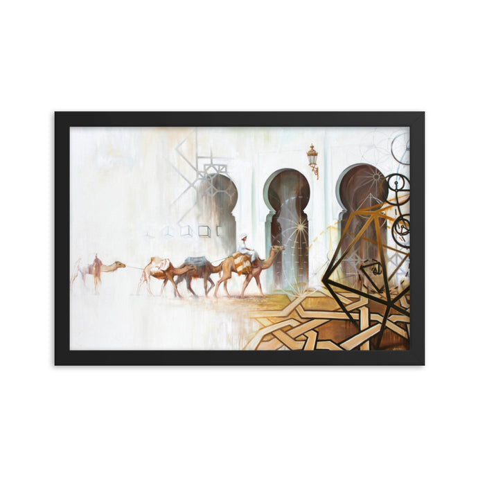 Framed print / JOURNEY