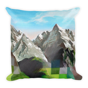 Premium Pillow / SNOW DRAGON MOUNTAIN